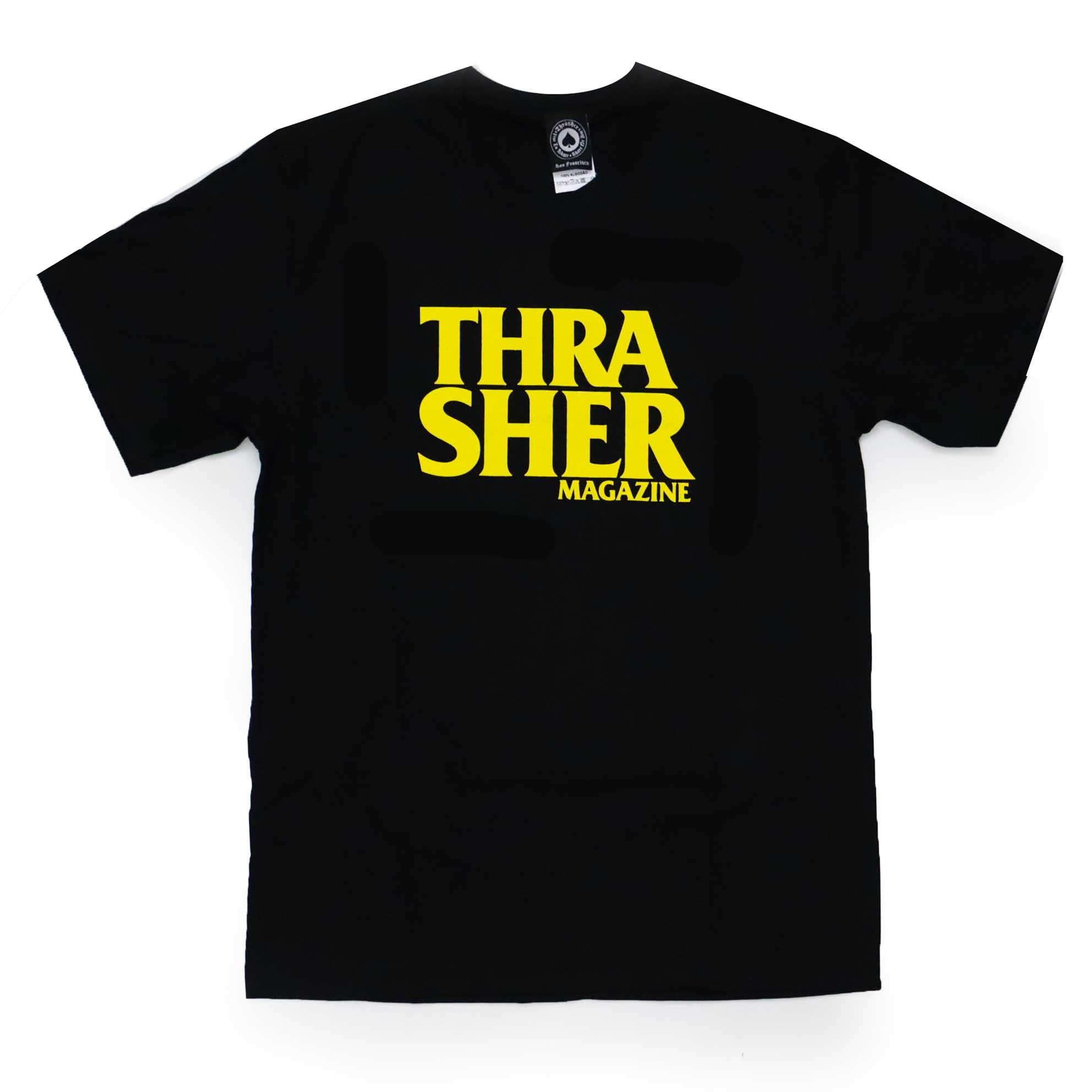 Camiseta Thrasher Magazine Anti Logo - Preto