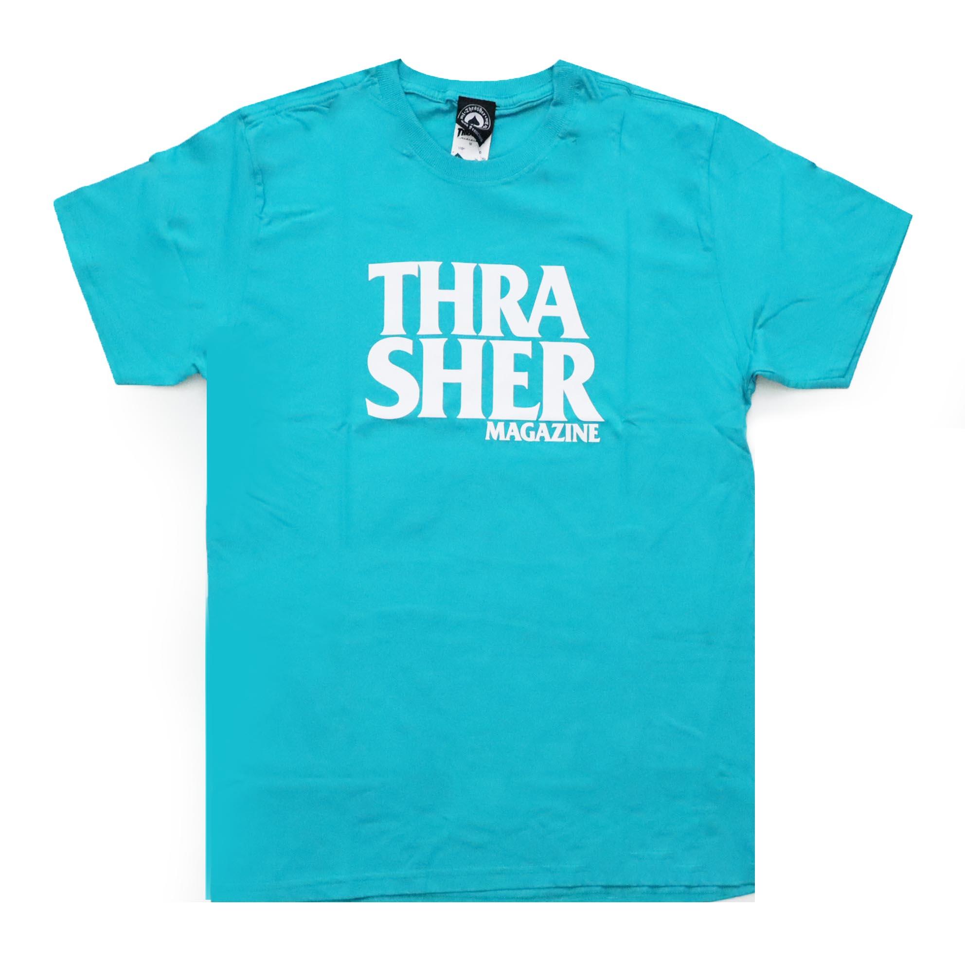 Camiseta Thrasher Magazine Anti Logo - Verde Jade