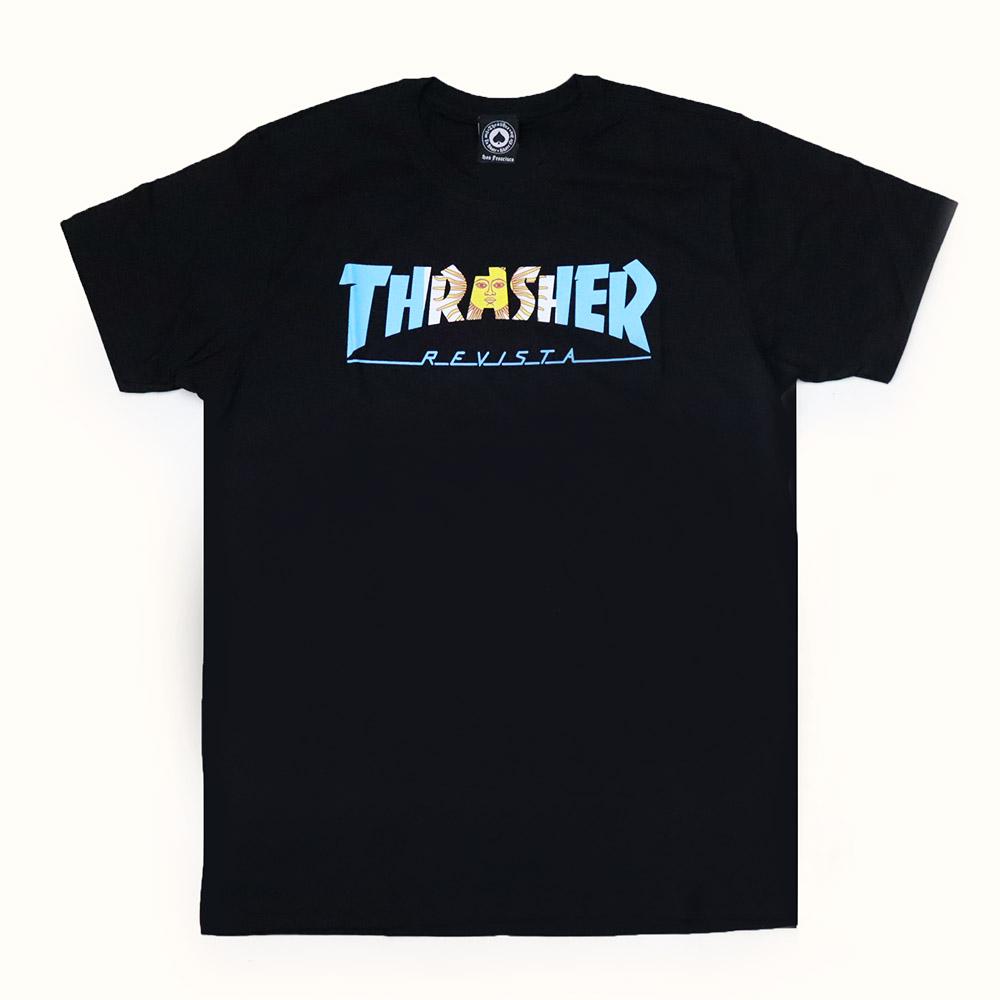 Camiseta Thrasher Magazine Argentina - Preto