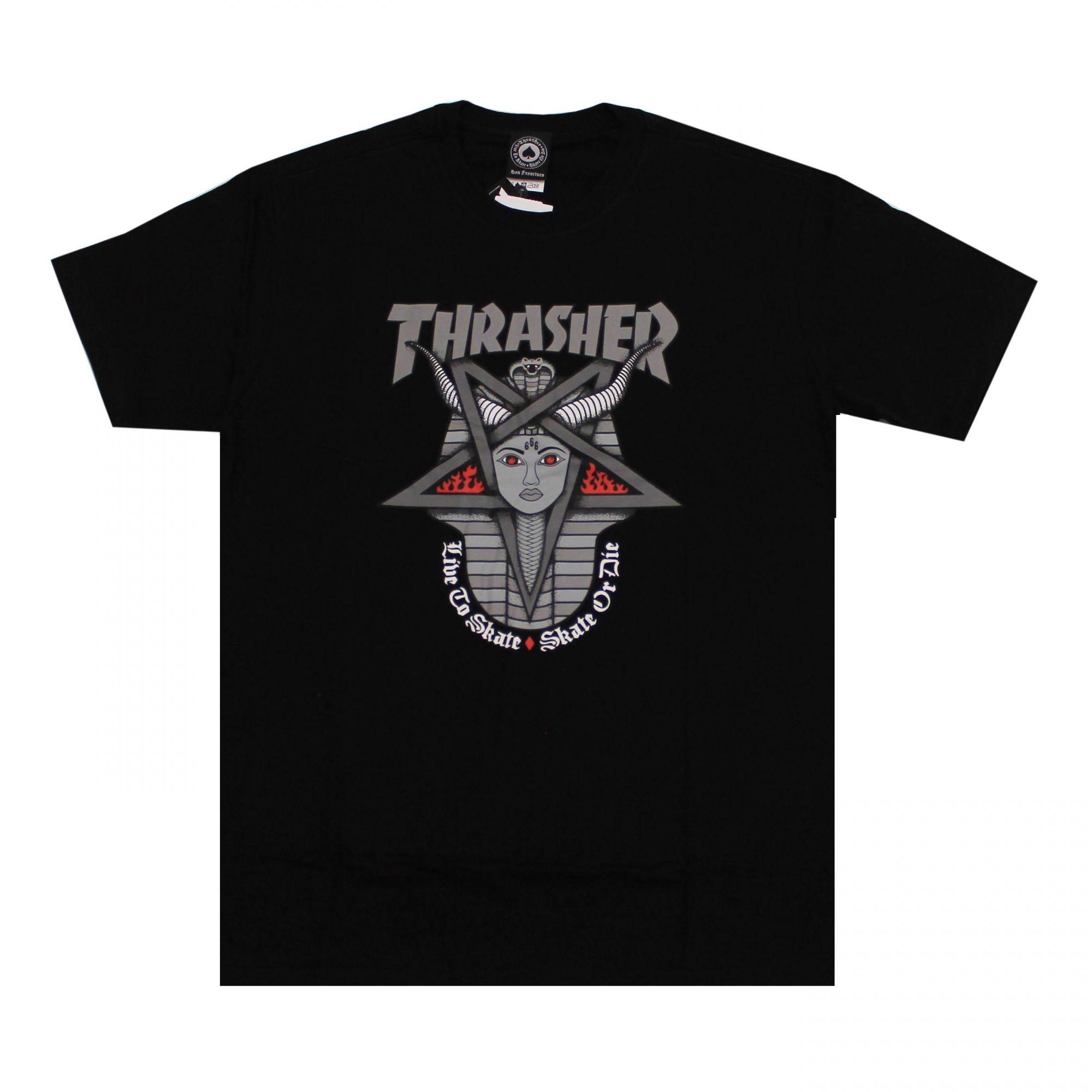 Camiseta Thrasher Magazine Goddess Preto