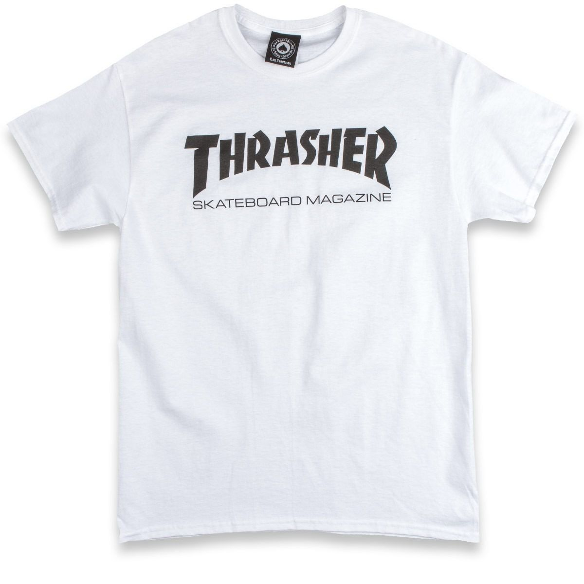 Camiseta Thrasher Magazine Skate Mag - Branco