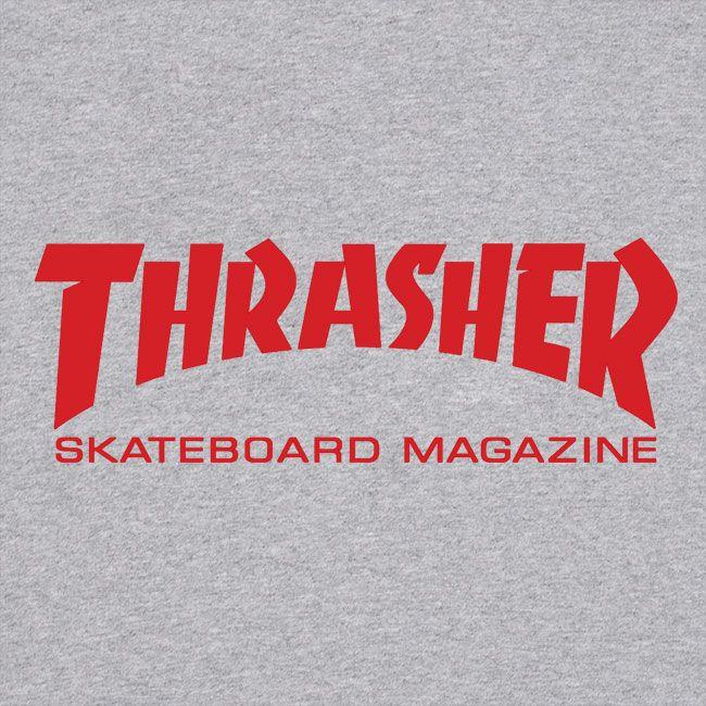 Camiseta Thrasher Magazine Skate Mag Grey
