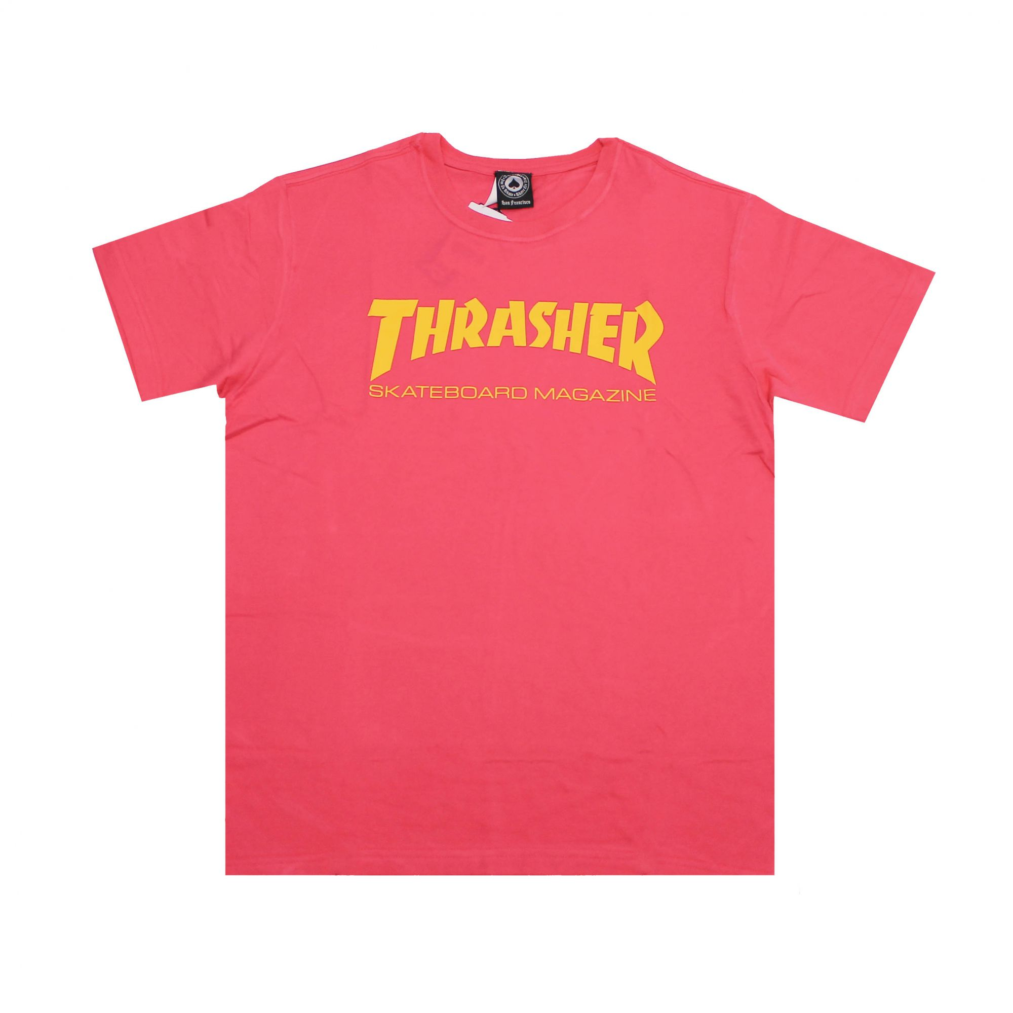 Camiseta Thrasher Magazine Skate Mag - Rosa Pink