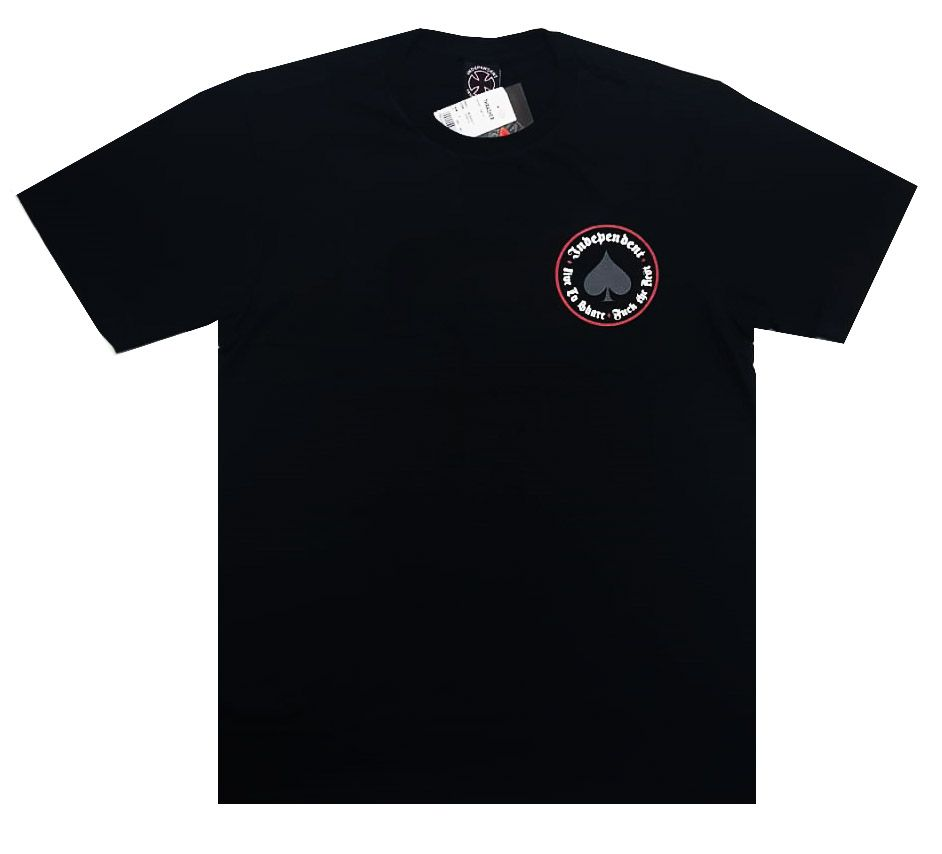 Camiseta Thrasher Magazine x Independent Oath Black