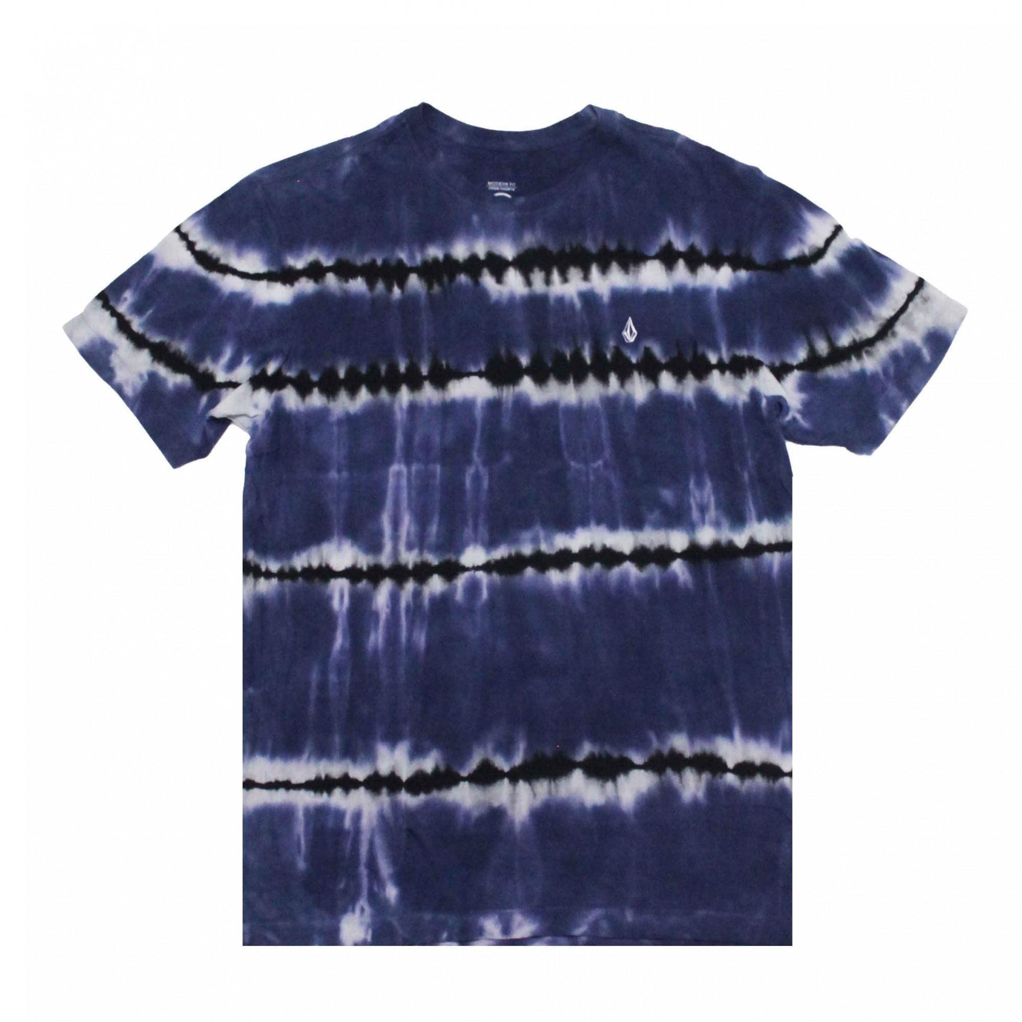 Camiseta Volcom Debut Tie Die Azul