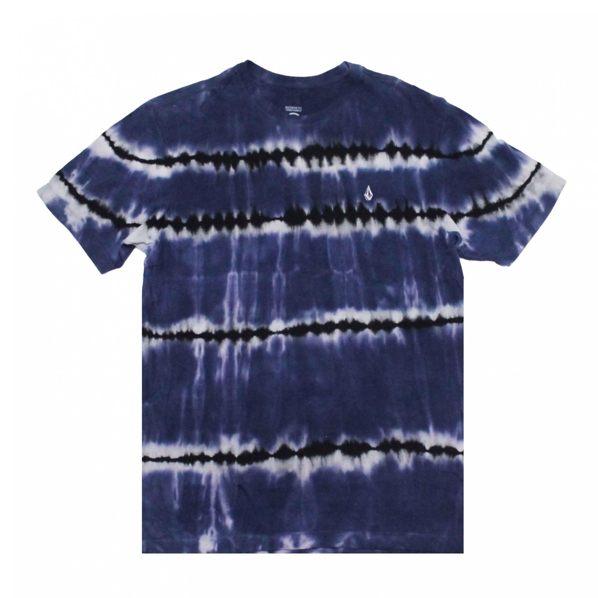Camiseta Volcom Debut - Tie Die Azul