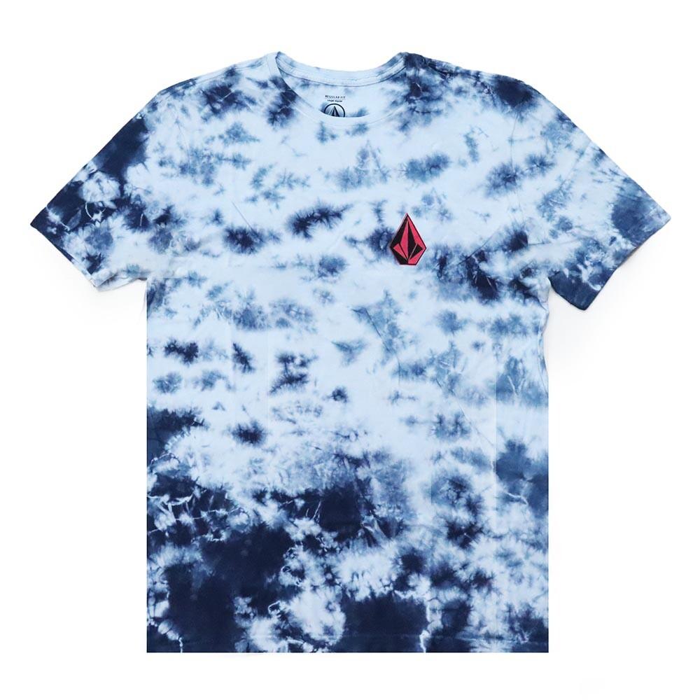Camiseta Volcom Static Noise - Tie Dye Azul
