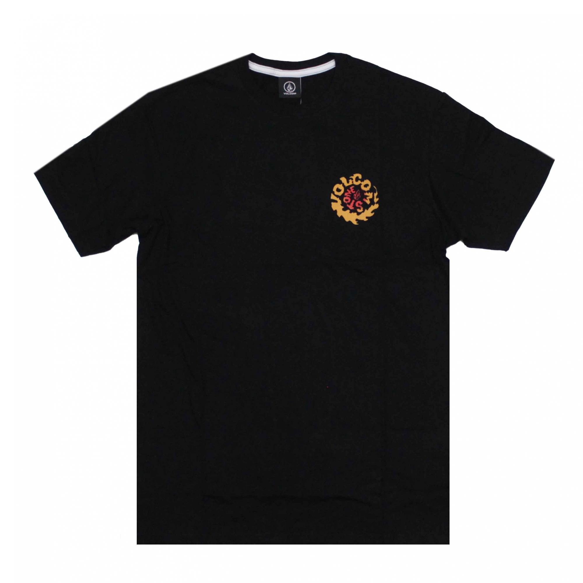 Camiseta Volcom Throttle - Preto