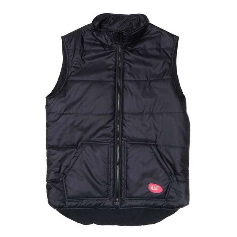 Colete Blaze Zipper Vest Patch - Preto