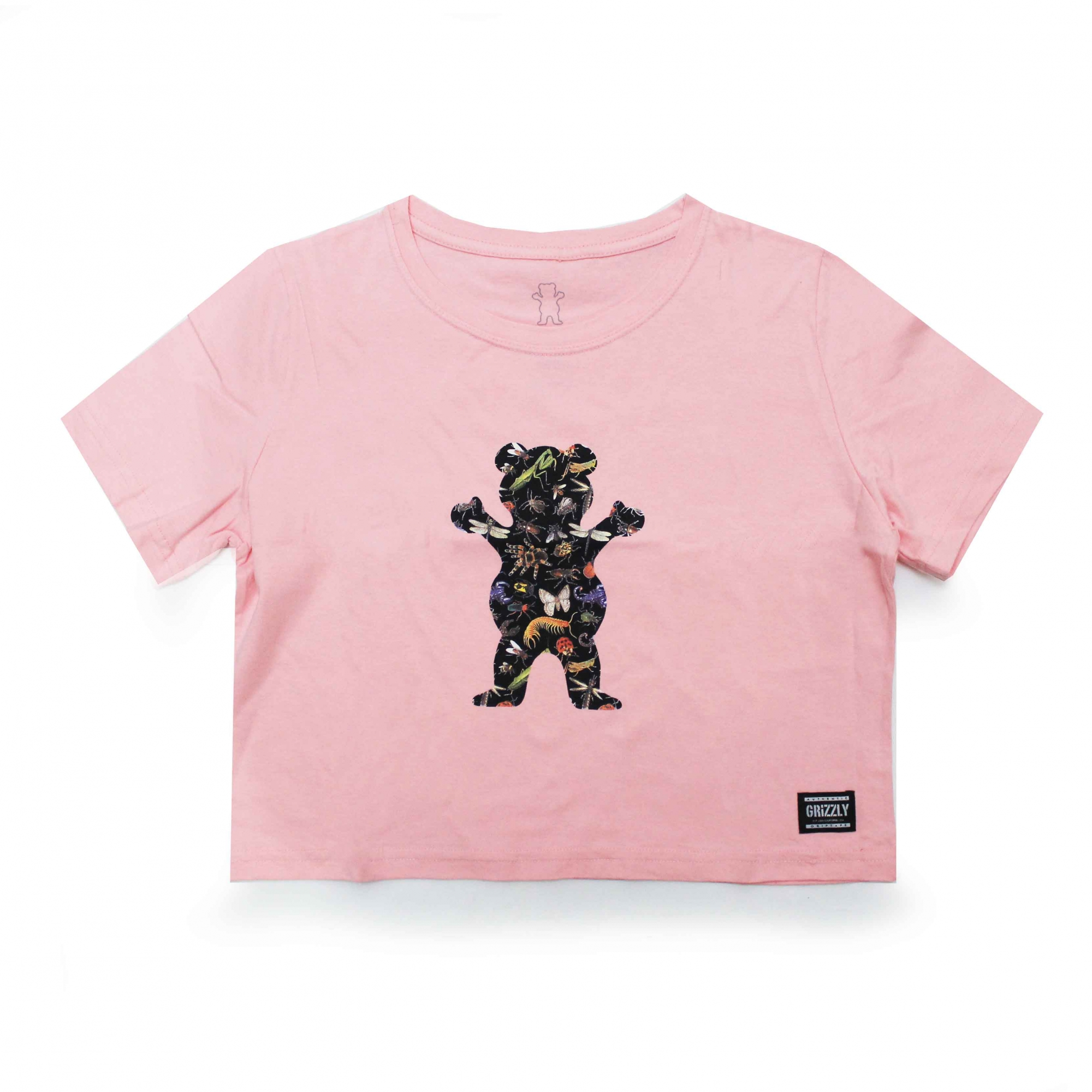 Cropped Grizzly Boo Bugs - Rosa