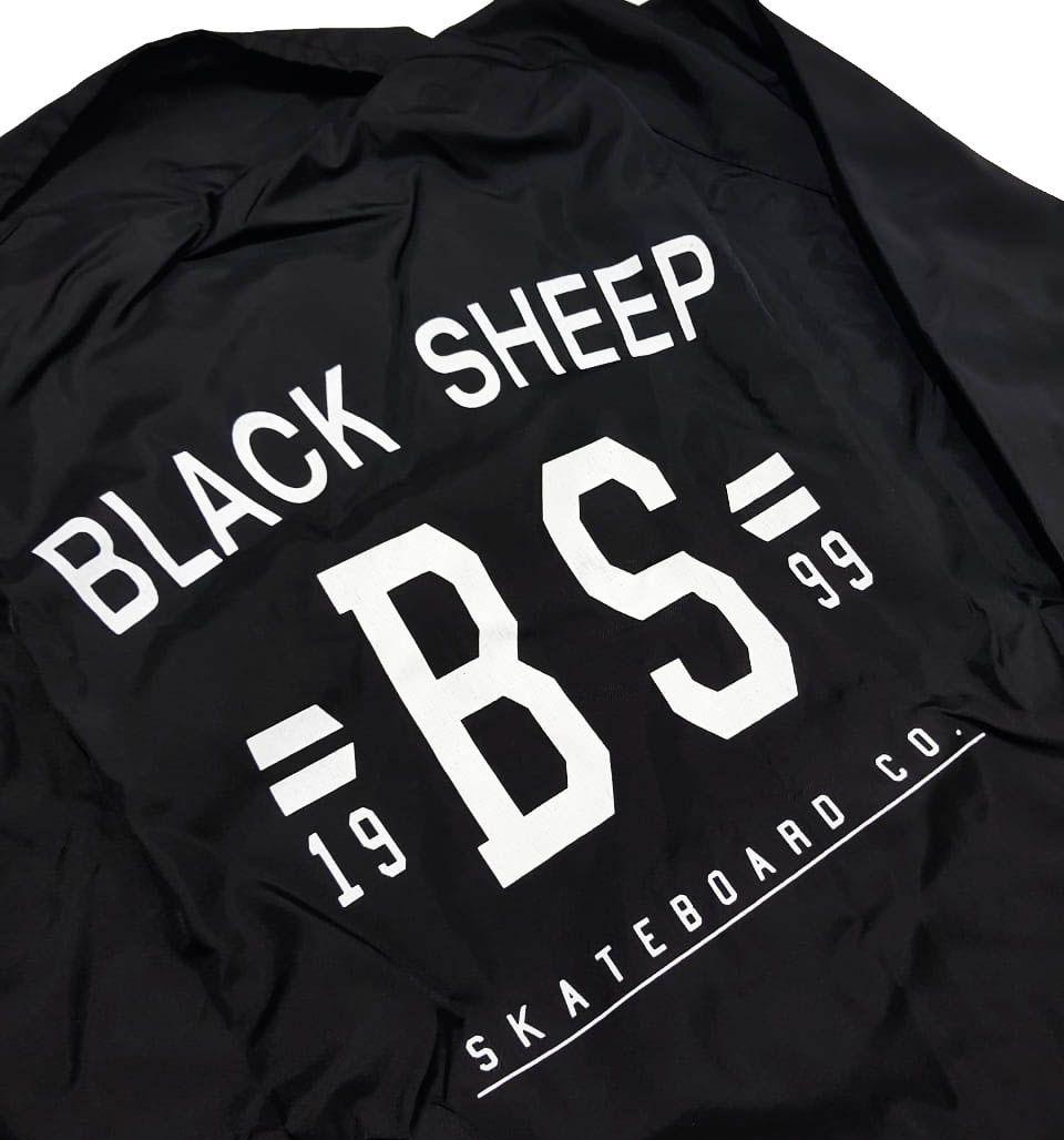 Jaqueta Corta Vento Black Sheep College Black