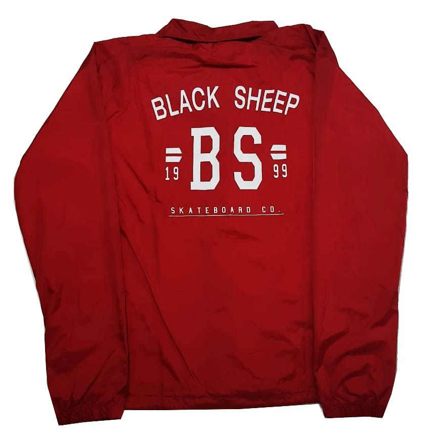 Jaqueta Corta Vento Black Sheep College Red