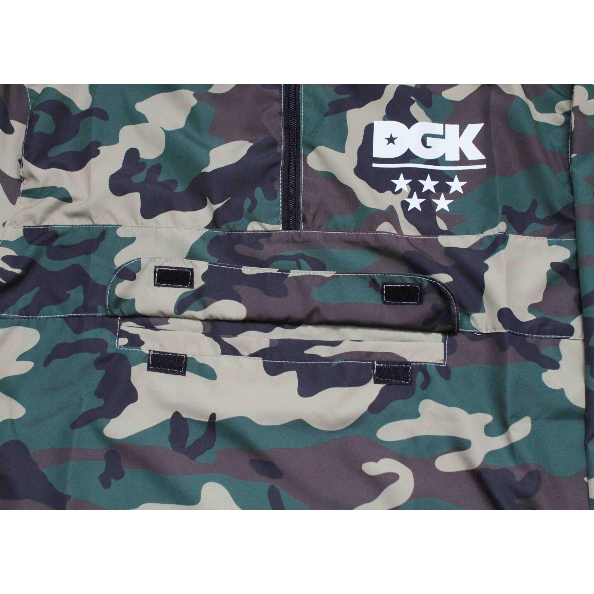 Jaqueta Corta Vento DGK Deployment Camo