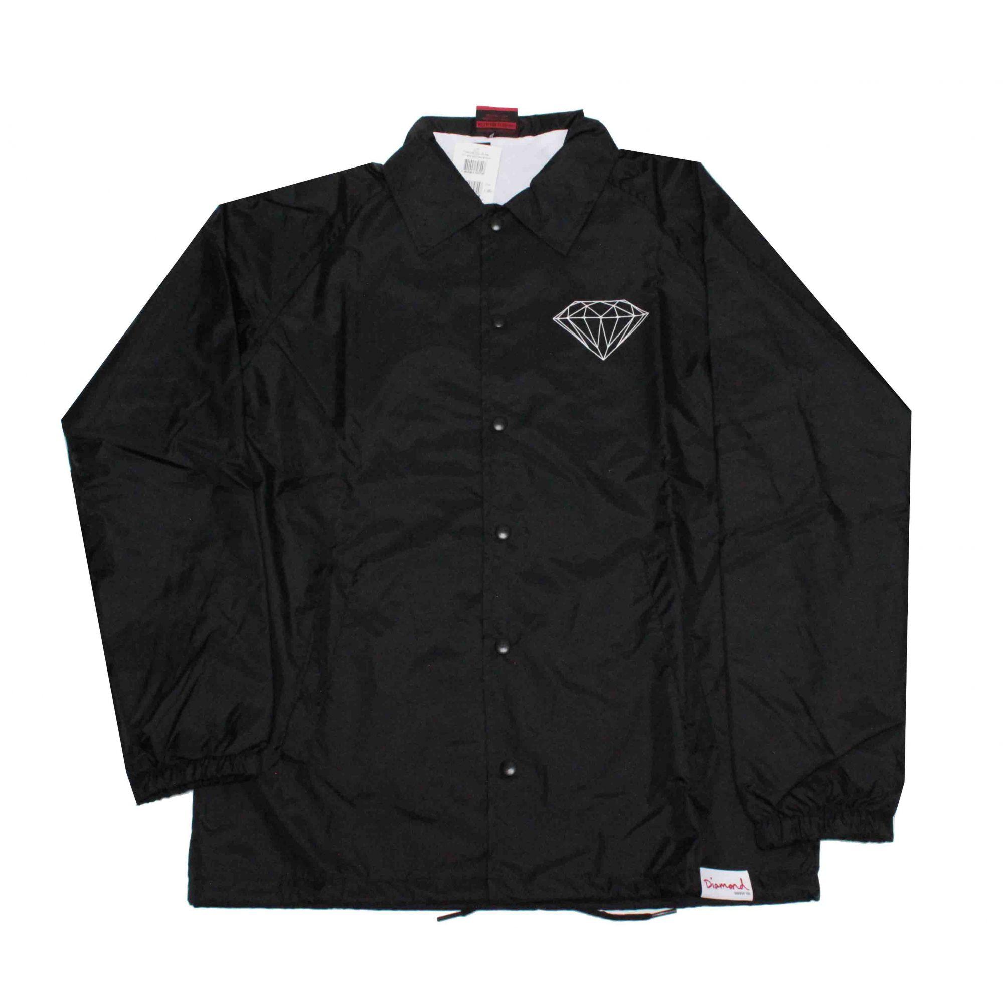 Jaqueta Corta Vento Diamond Brilliant Black