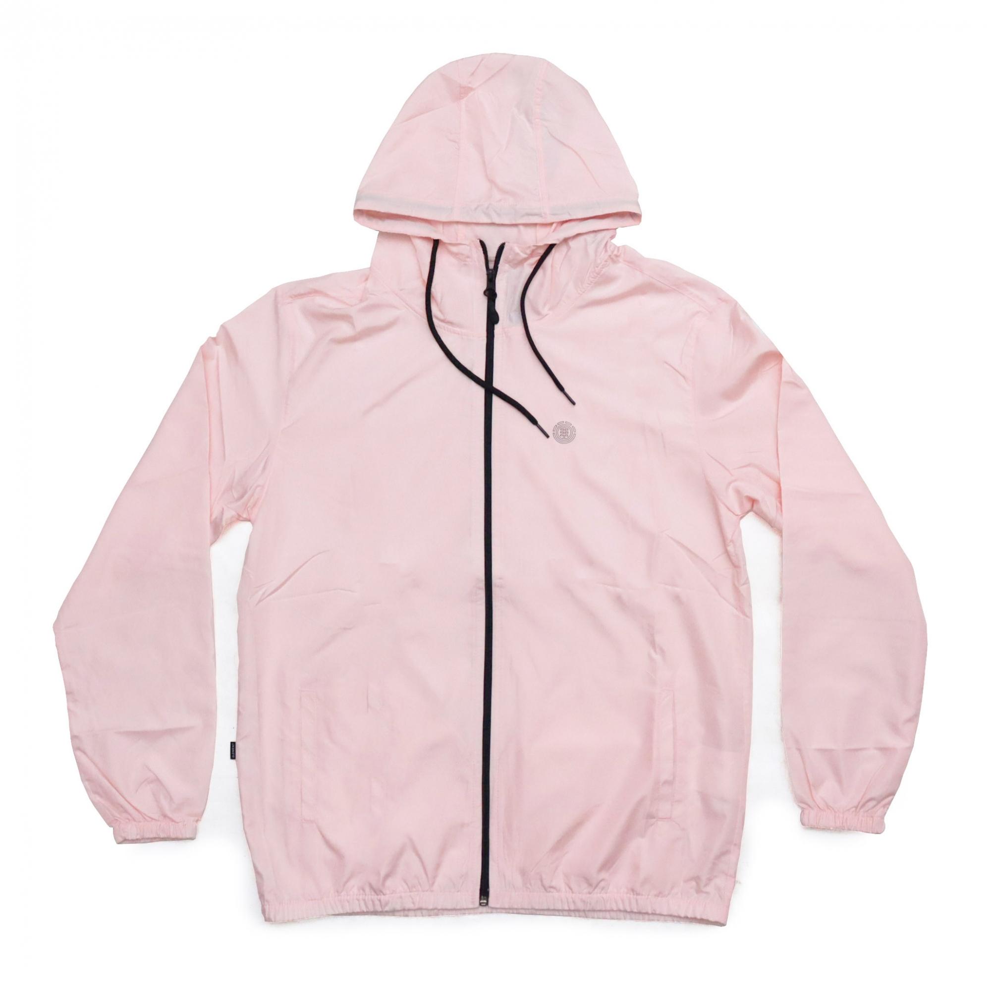 Jaqueta Corta Vento Element Blasic Zip - Rosa