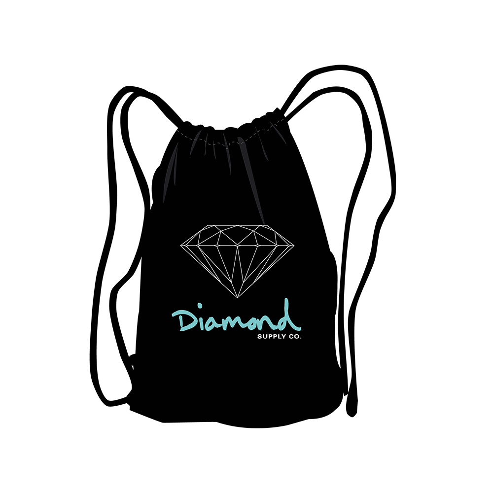 Mochila Diamond OG Sign Packable - Preto