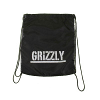 Mochila Grizzly Stamp Packable - Preto