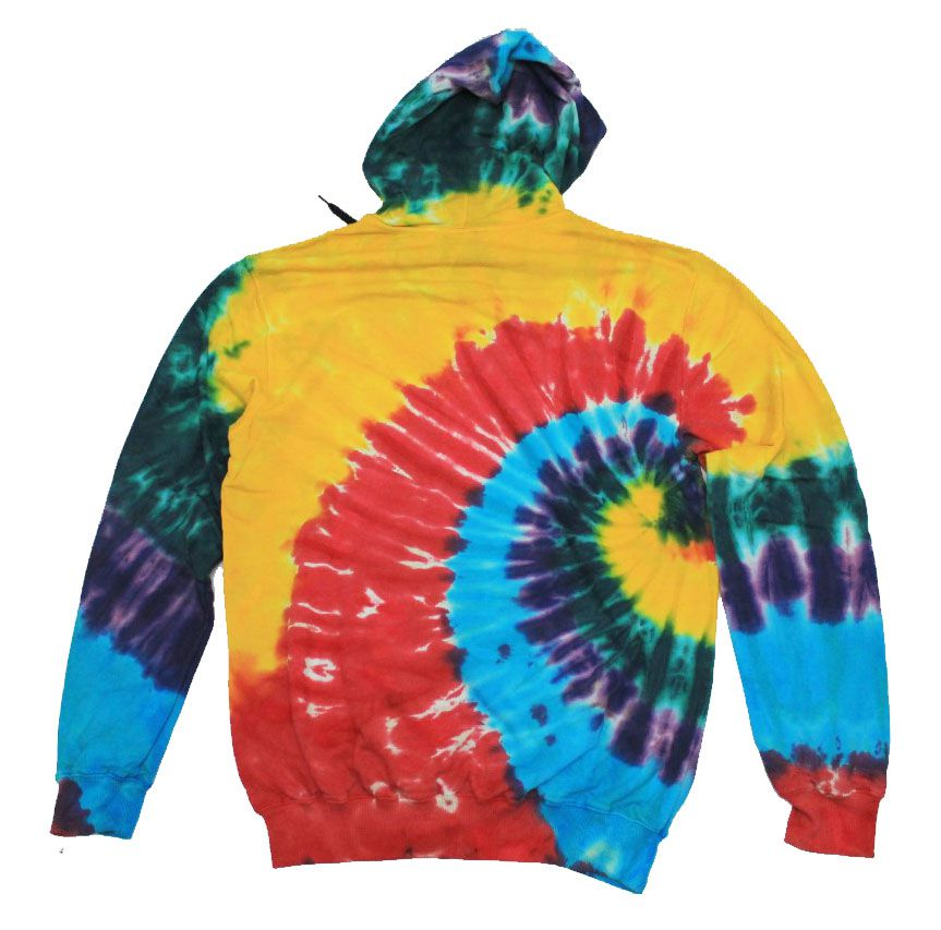 Moletom Creature Shredded Hood Tie Dye