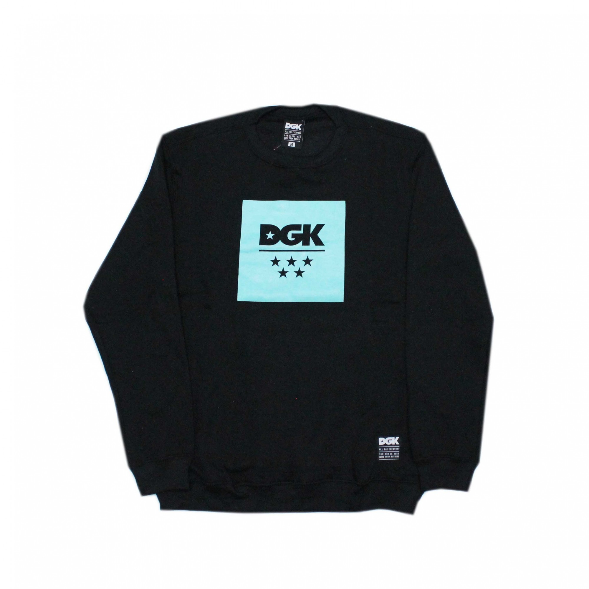 Moletom DGK Careca All Star Fleece - Preto
