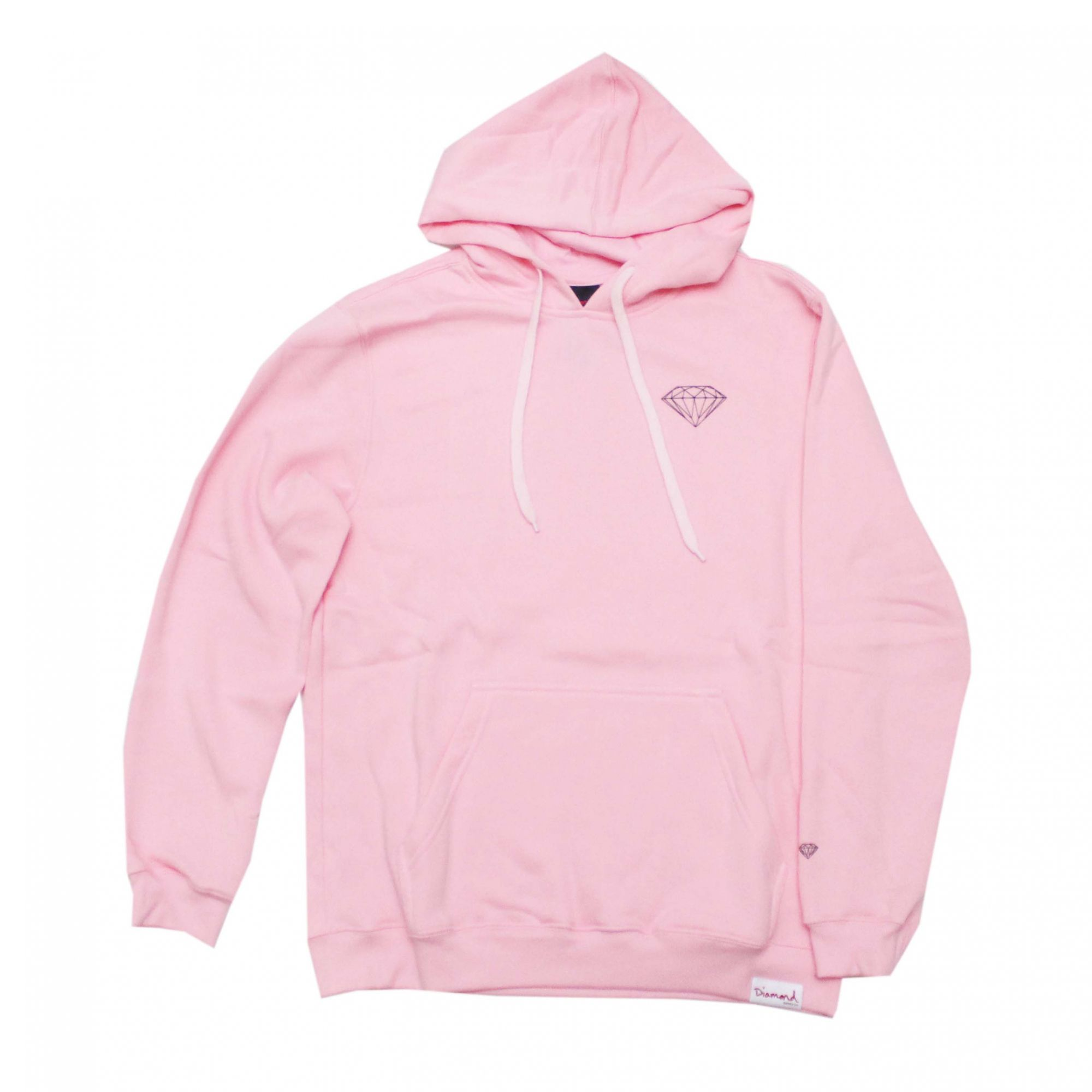 Moletom Diamond Fechado OG Brilliant - Rosa