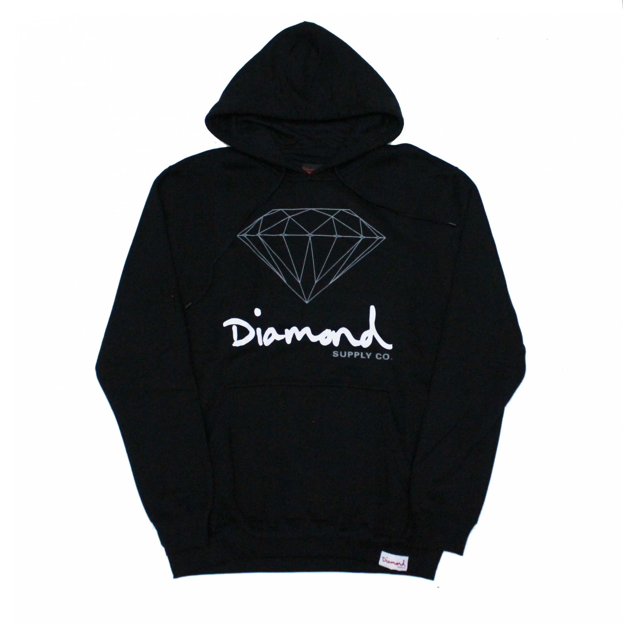 Moletom Diamond Fechado OG Sign - Preto