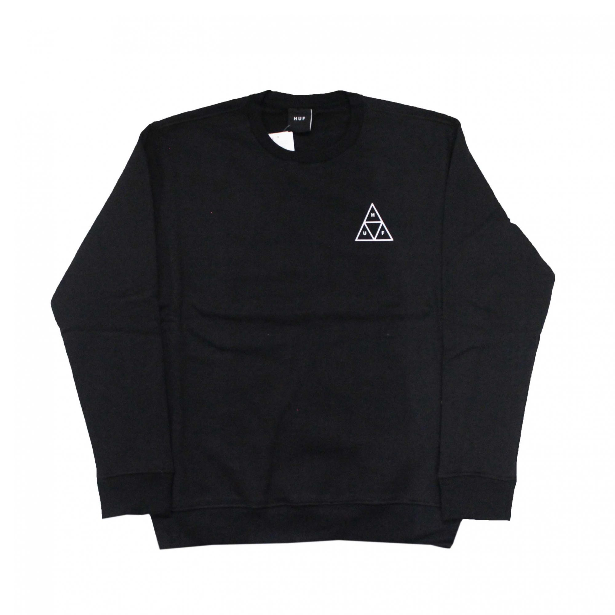 Moletom HUF Careca Essentials TT Preto
