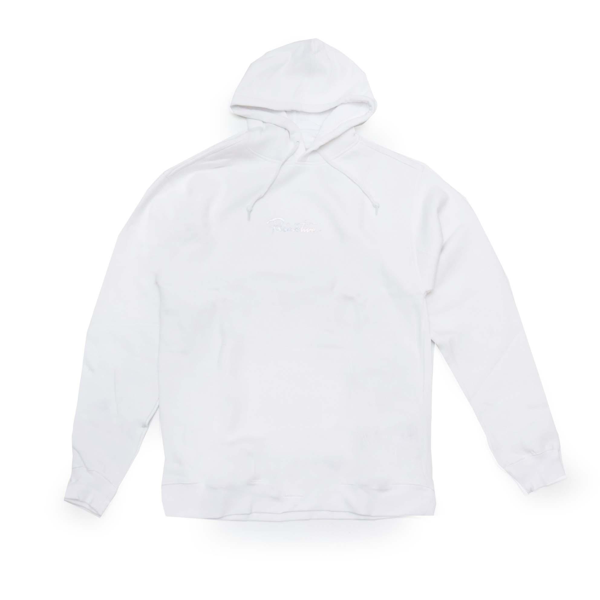 Moletom Primitive Canguru Nuevo Hologram - Branco (Estampa Holográfica/Importado)