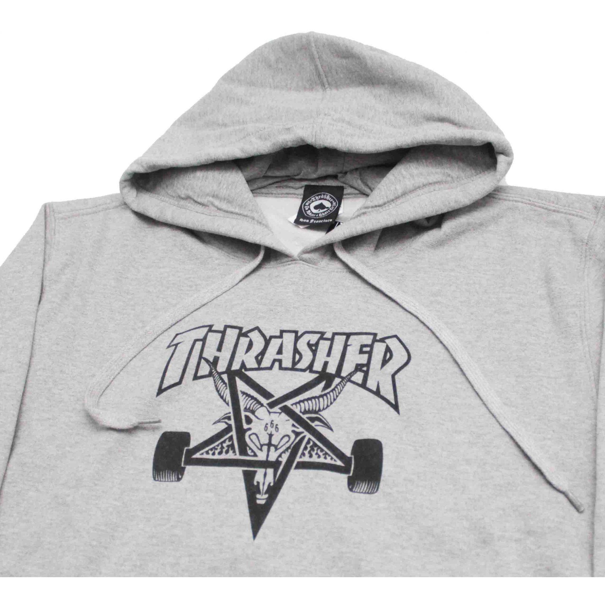 Moletom Thrasher Magazine Skate Goat Hoodie Grey