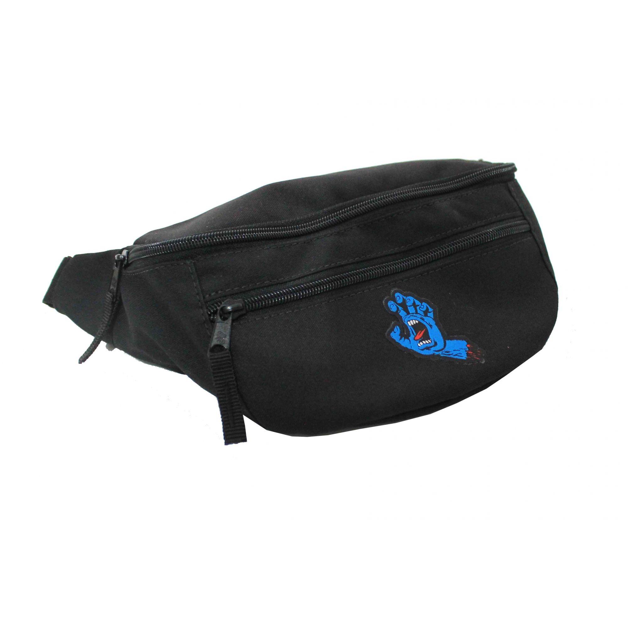 Pochete Santa Cruz Screaming Hand Bag Pack Black