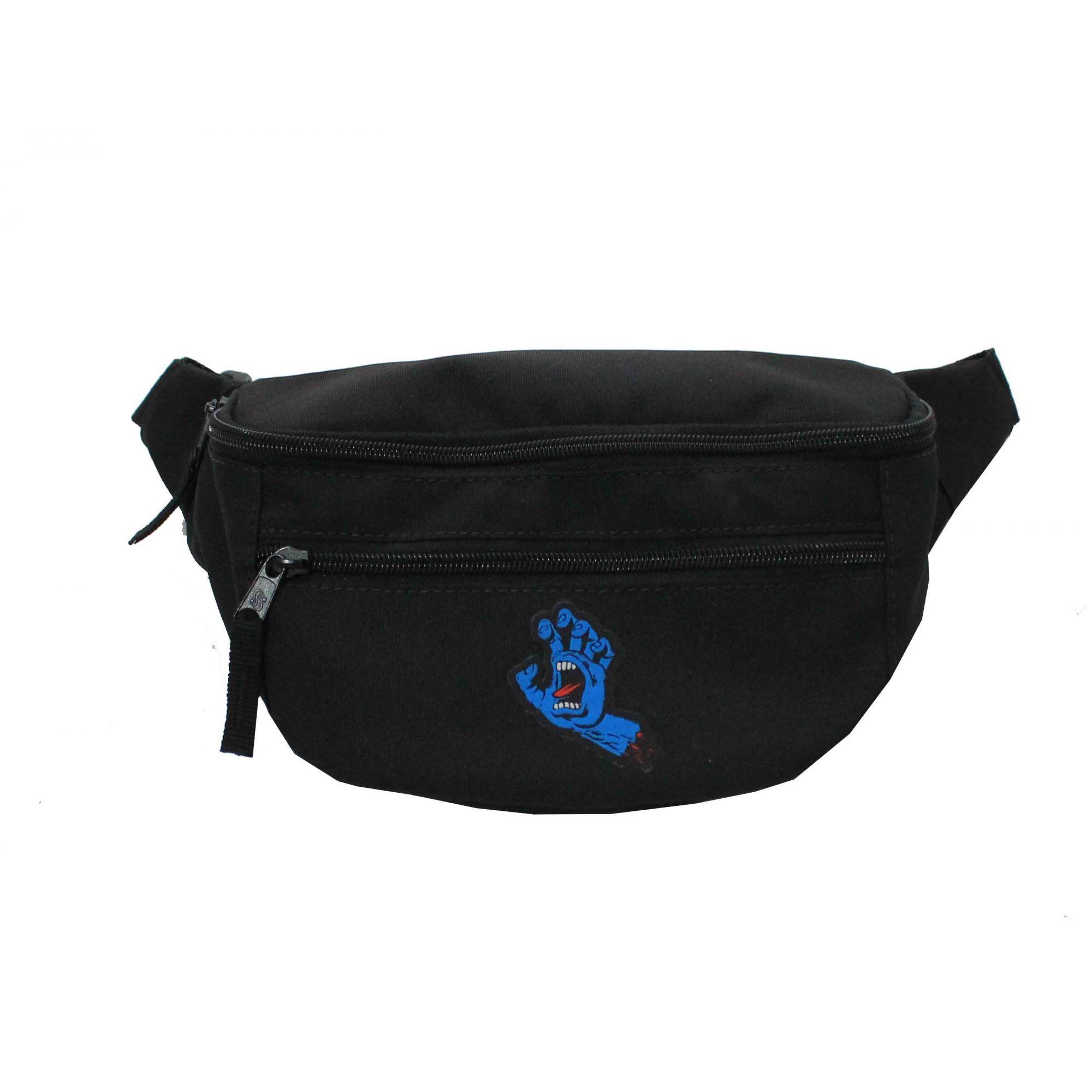 Pochete Santa Cruz Screaming Hand Bag Pack - Preto