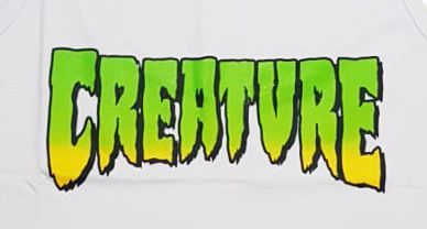 Regata Creature Classic Logo Branca
