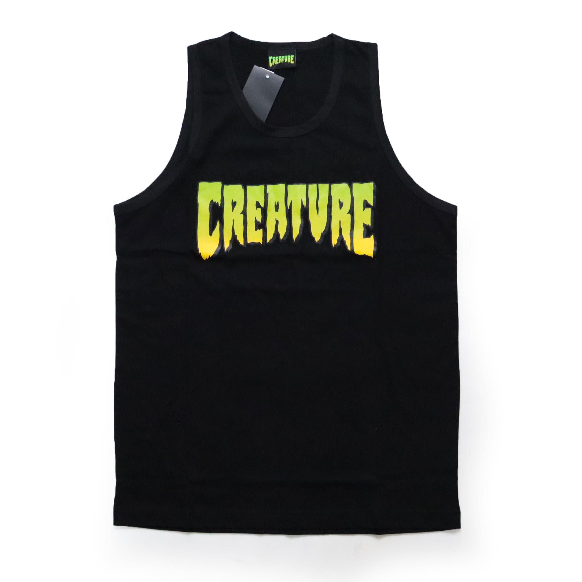 Regata Creature Logo Tank - Preto