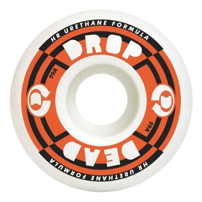 Roda Drop Dead Perfomance Laranja 99A - 53mm