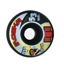 Roda Moska Rock Black 53d - 53mm / 55mm