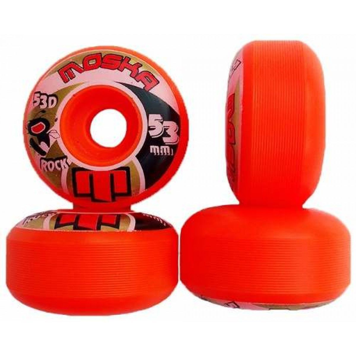 Roda Moska Rock Orange 53d - 53mm