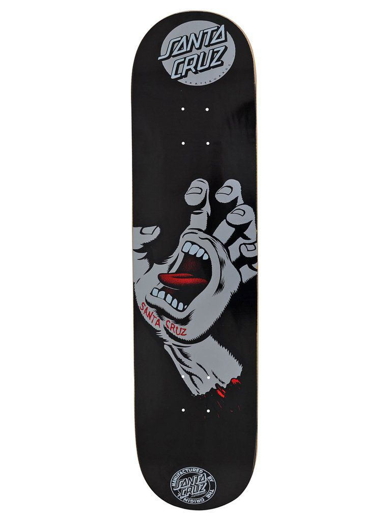 Shape Santa Cruz Marfim Screaming Hand Preto/Cinza - 8.0