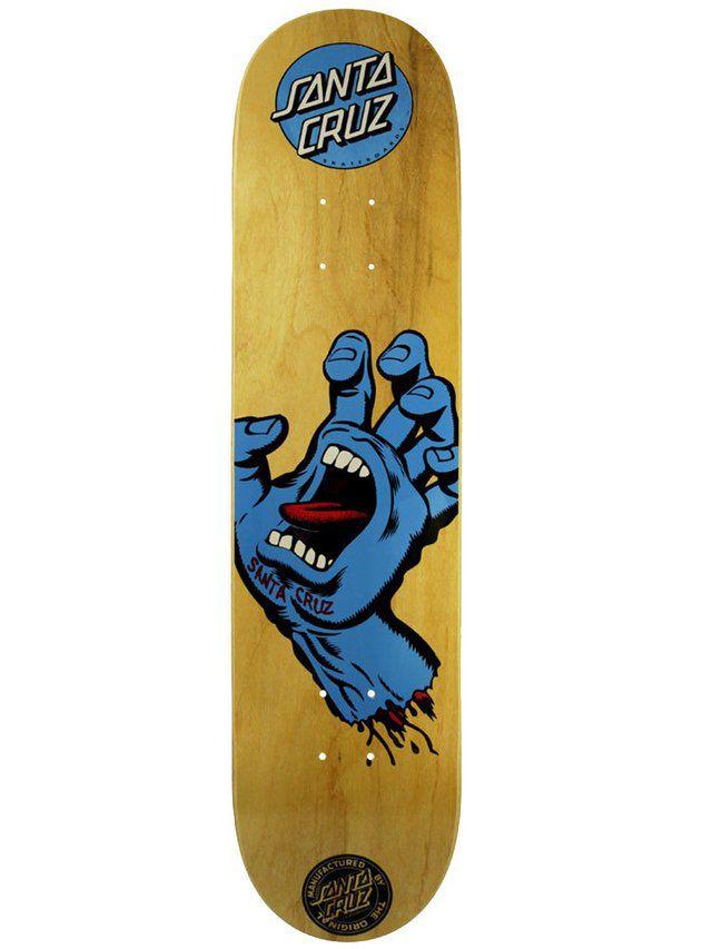 Shape Santa Cruz Marfim Screaming Hand Wood - 7.75