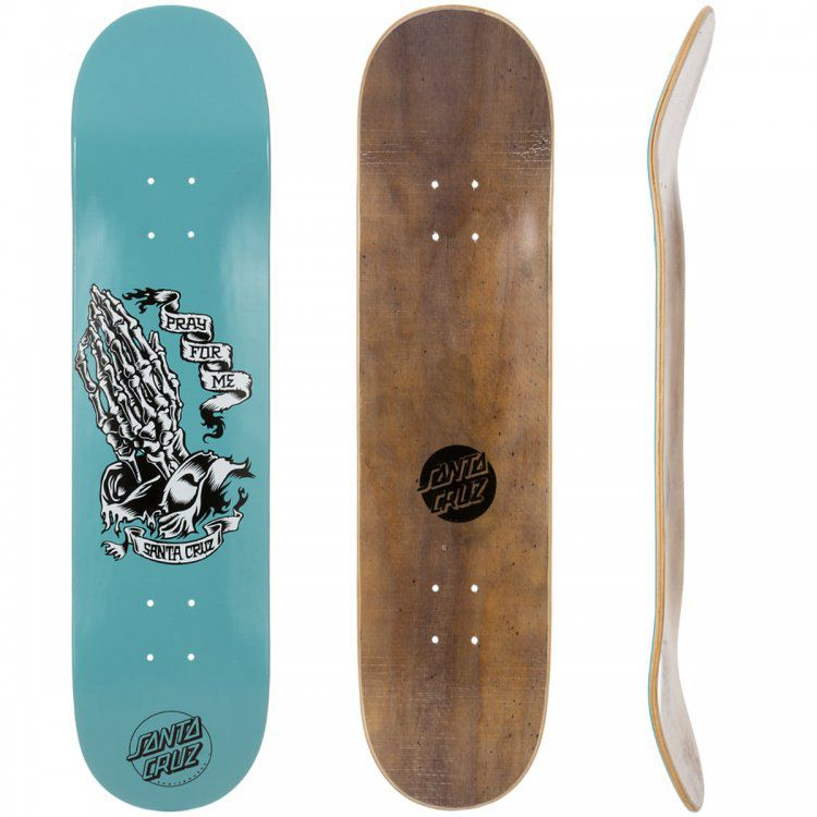 Shape Santa Cruz Skeleton Blue - 8.1