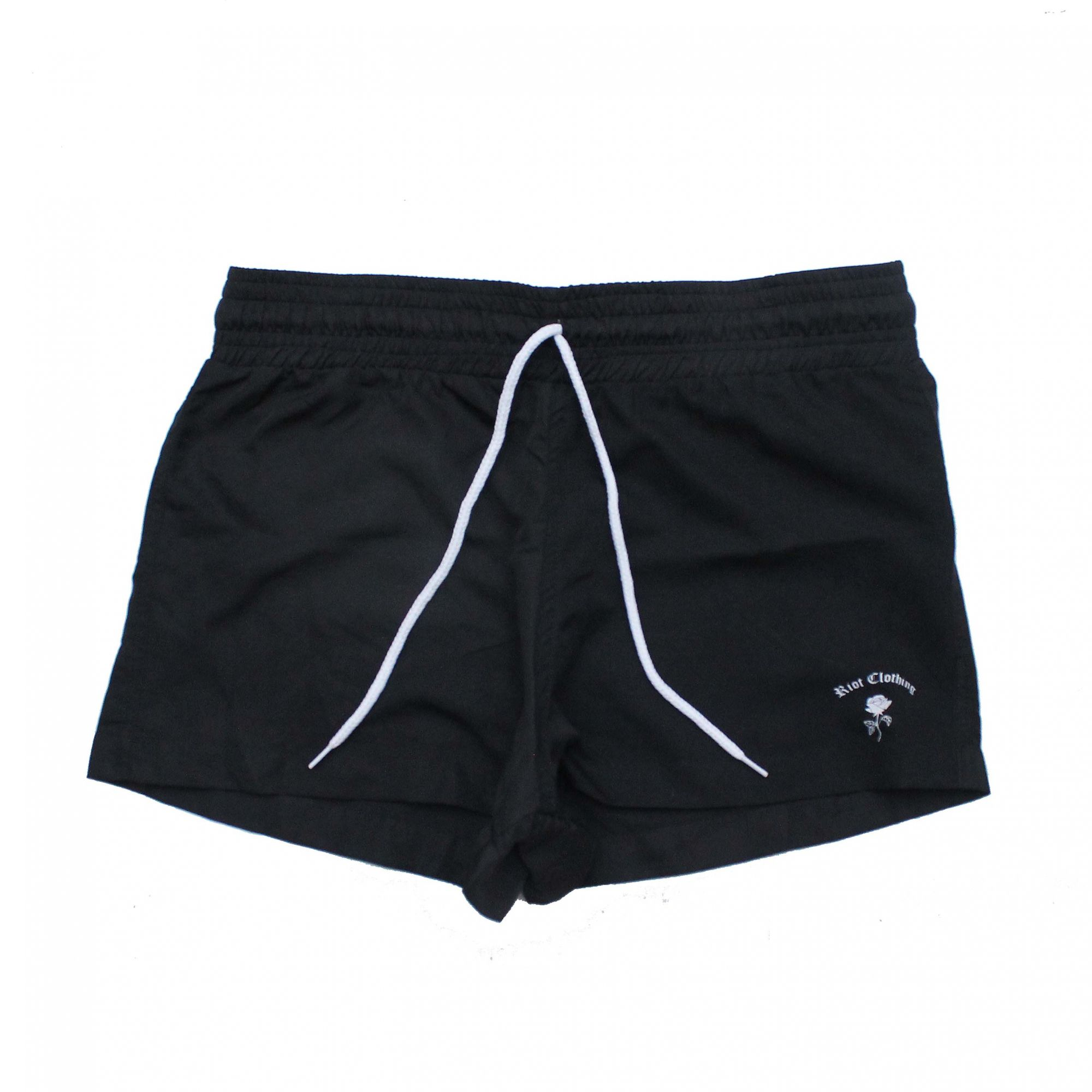 Shorts Riot Beach Tactel Preto