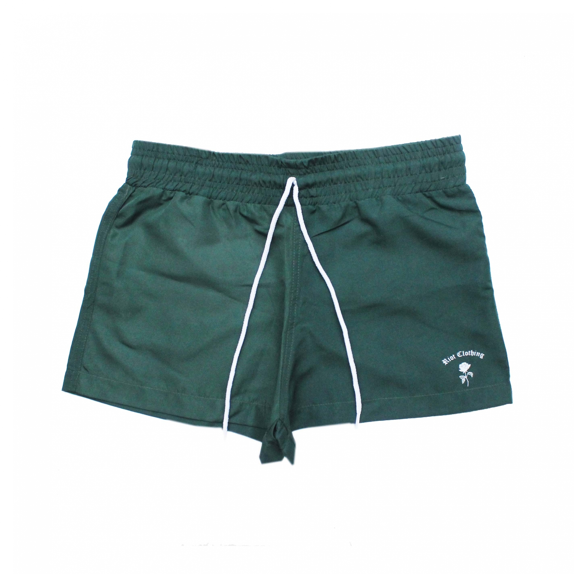 Shorts Riot Beach Tactel - Verde Escuro