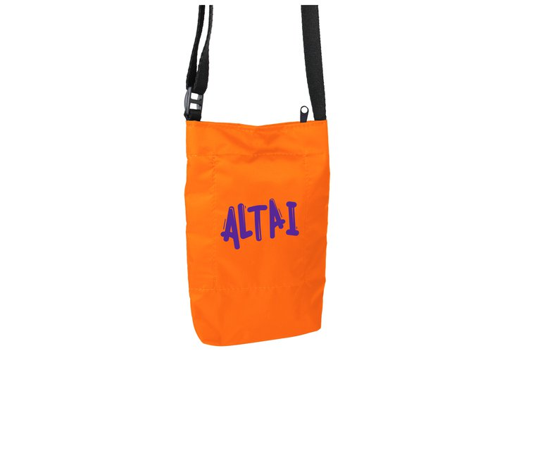 Shoulder Bag Altai Impermeável - Laranja