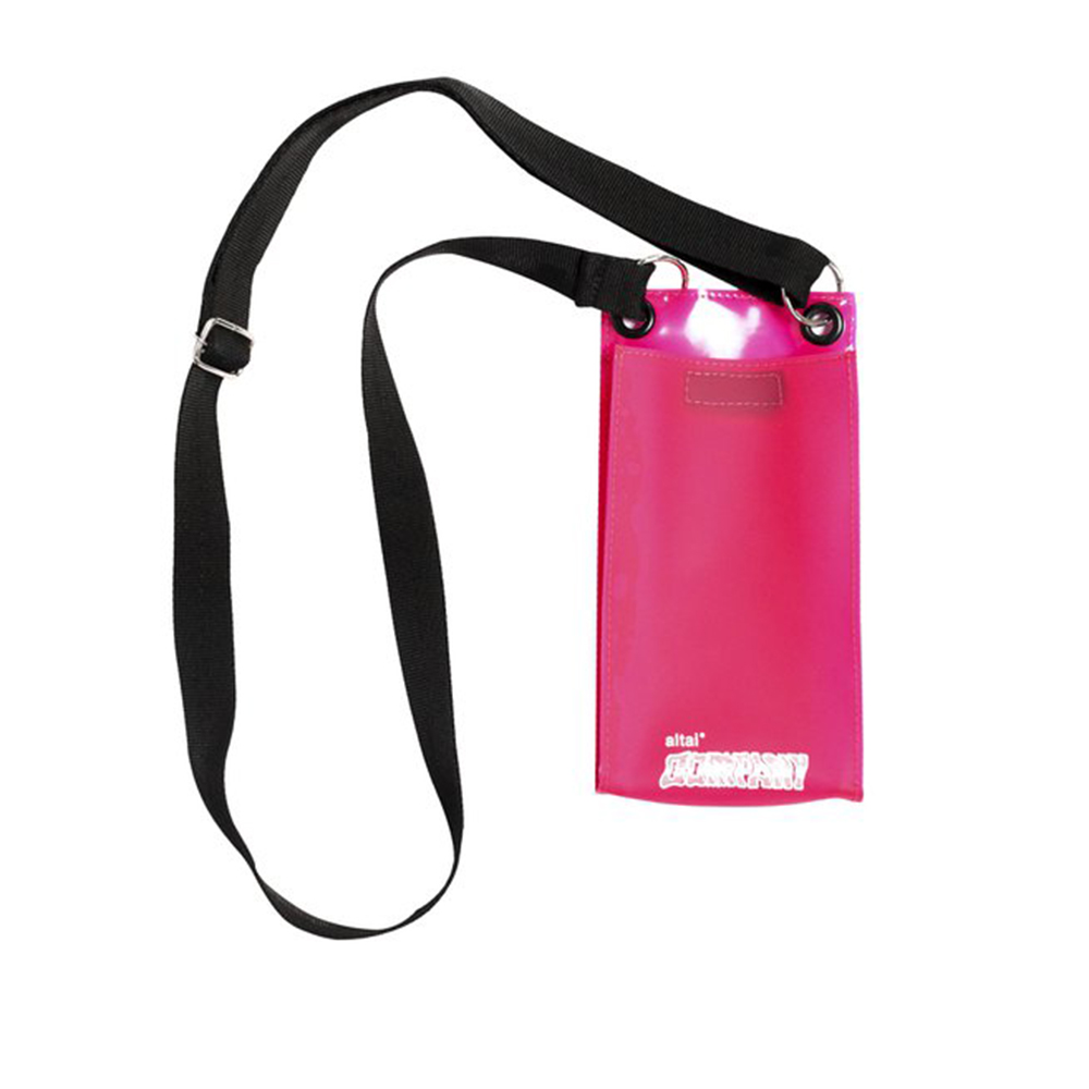 Shoulder Bag Altai Plastificada - Rosa