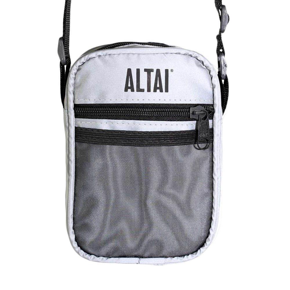 Shoulder Bag Altai Refletiva Cinza