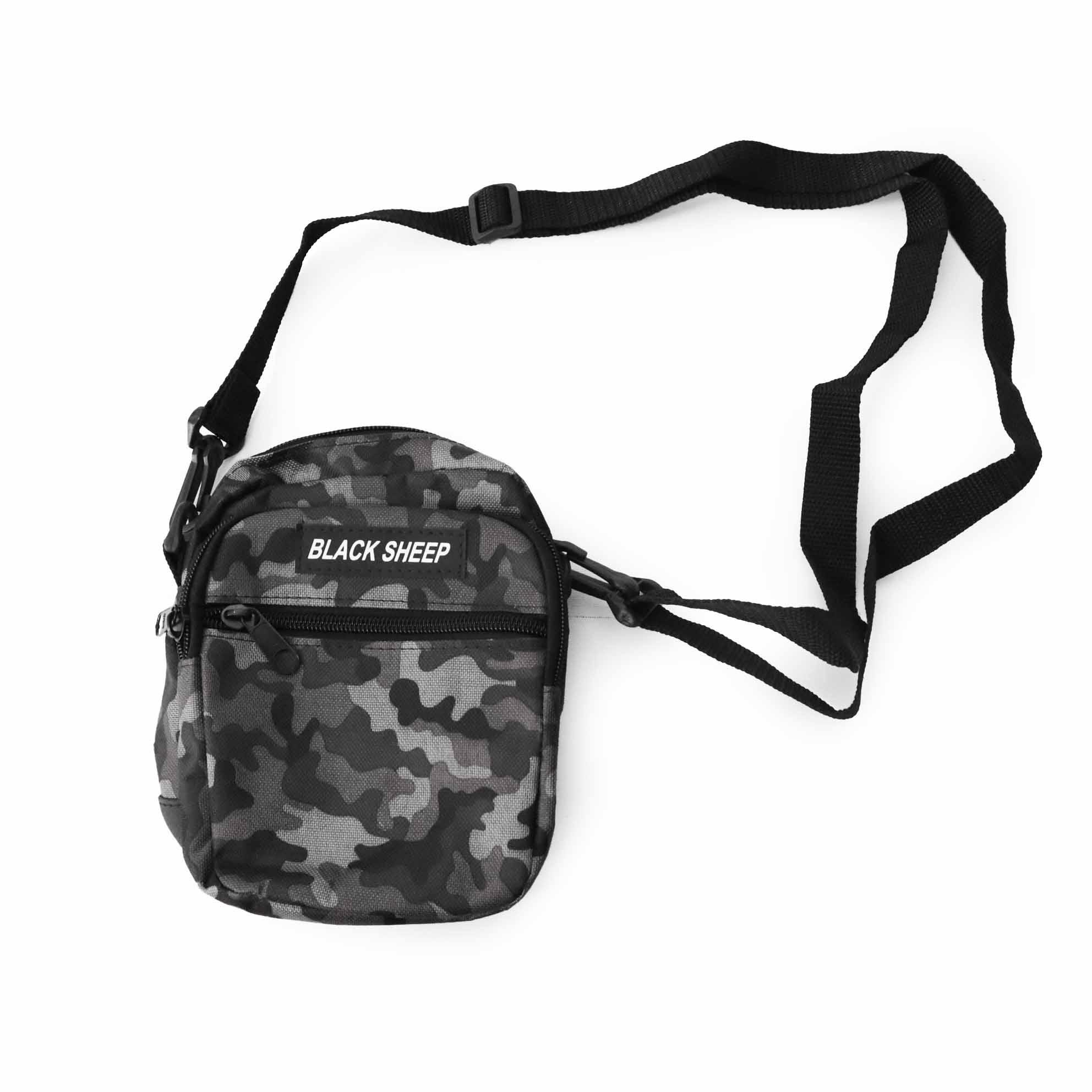 Shoulder Bag Black Sheep - Camuflado Verde/Cinza