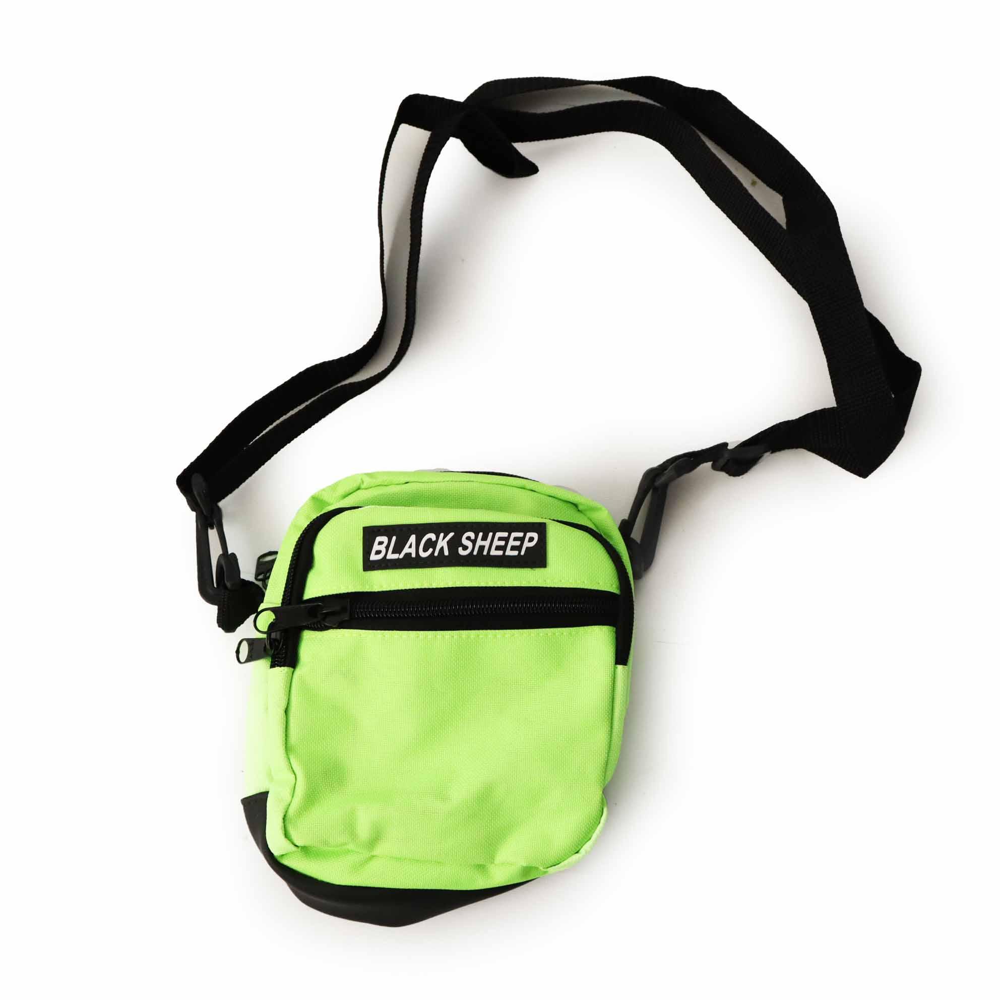 Shoulder Bag Black Sheep - Verde Neon