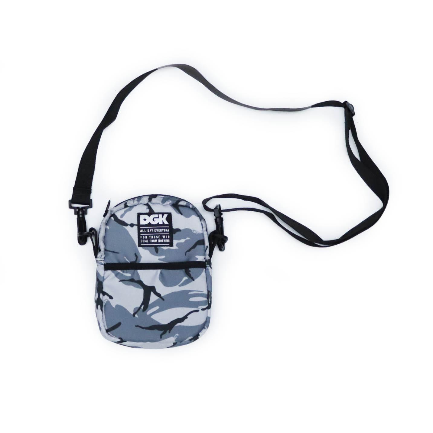 Shoulder Bag DGK Disrupt - Camuflado Cinza