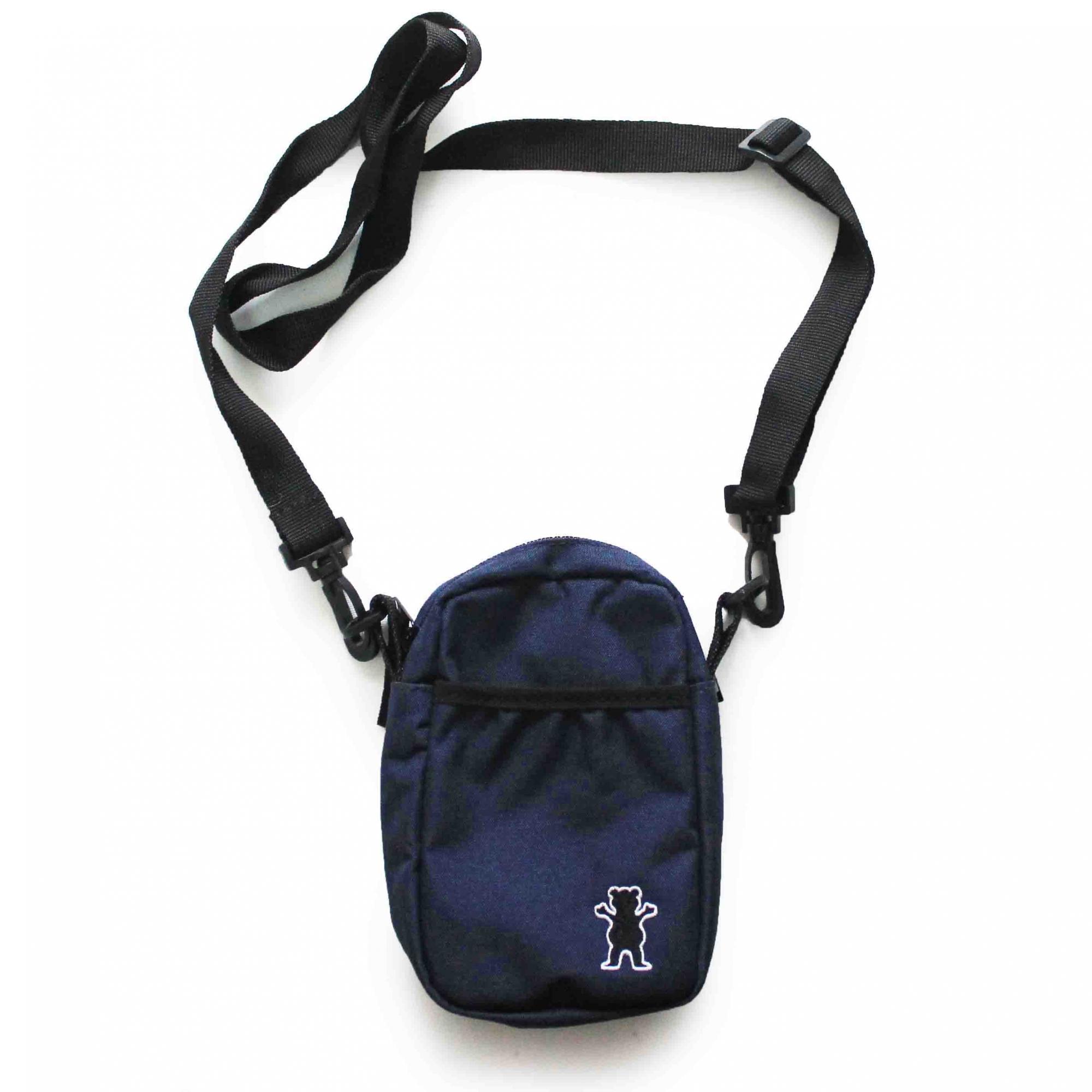 Shoulder Bag Grizzly Og Bear Classic - Azul Marinho