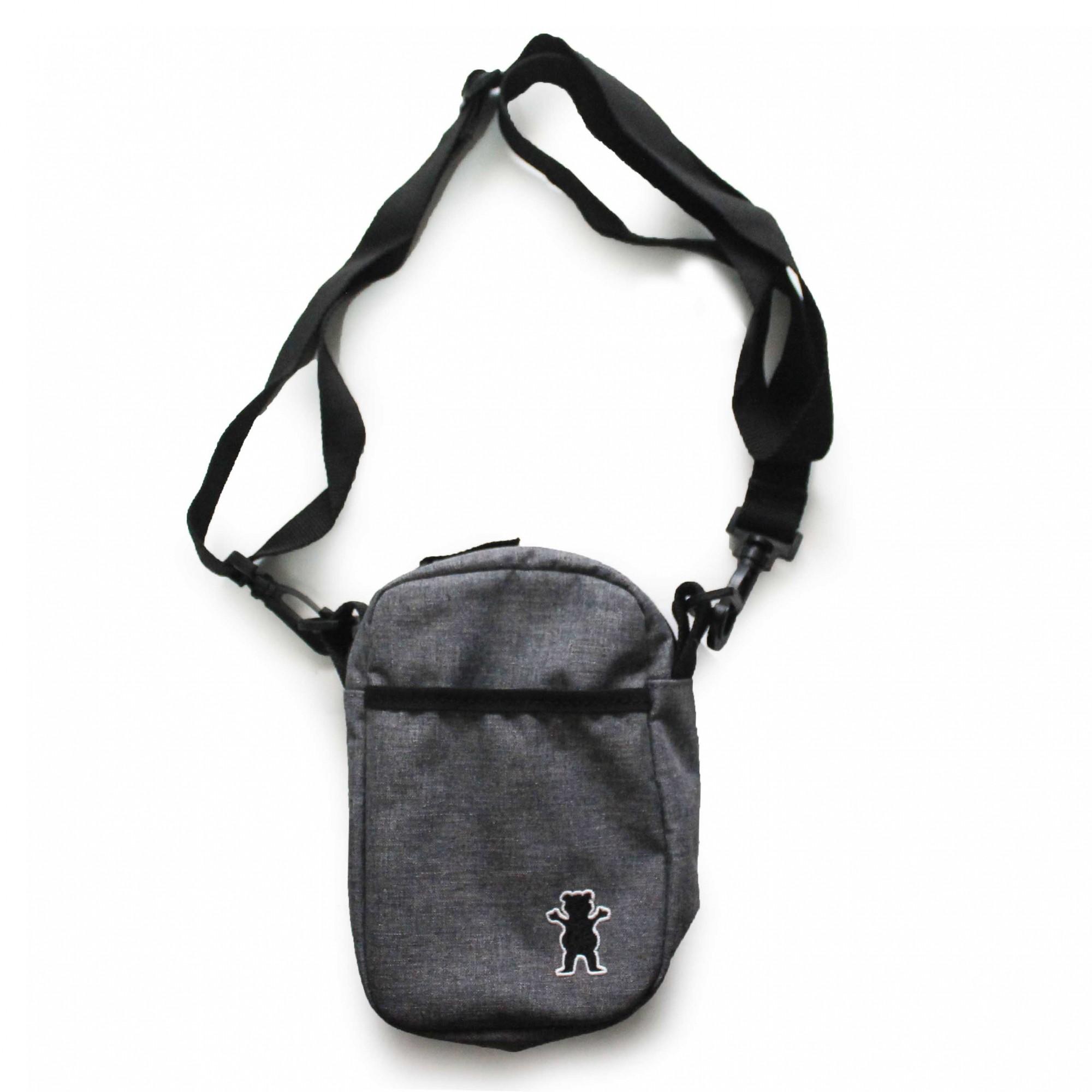Shoulder Bag Grizzly Og Bear Classic Cinza Mescla
