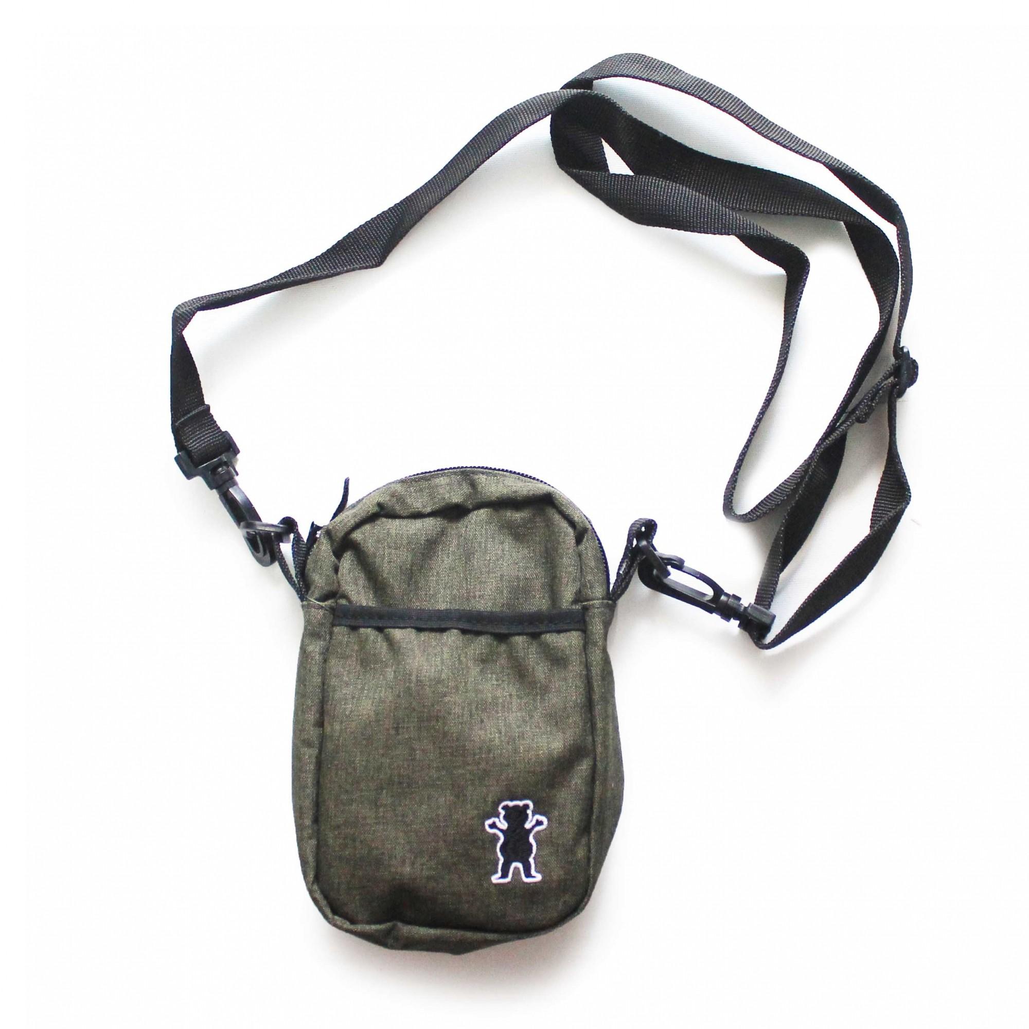 Shoulder Bag Grizzly Og Bear Classic Verde Escuro