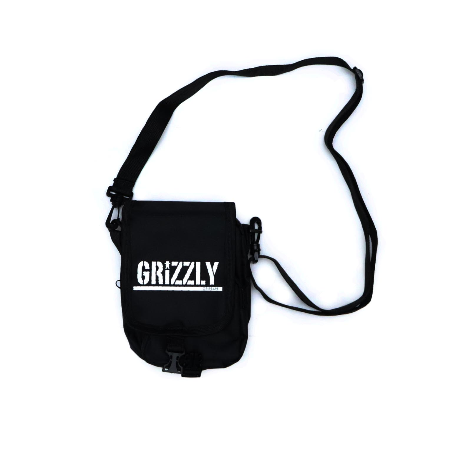 Shoulder Bag Grizzly Stamp - Preto